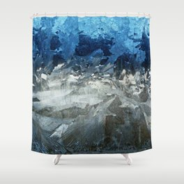 Icy Window Shower Curtain