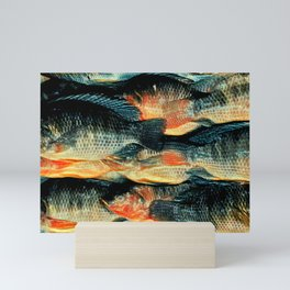 The Fish Scream Mini Art Print