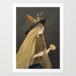 A Witchy Picture Day Art Print