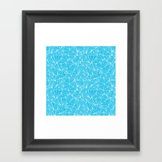 Ab Fan Electric Repeat Framed Art Print