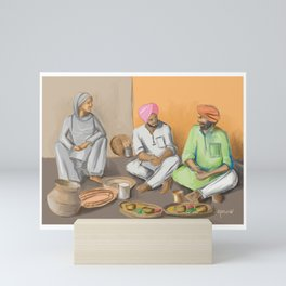Punjabi Kitchen 2 Mini Art Print