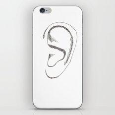 an earful iPhone & iPod Skin