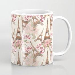 Eiffel Tower Pattern Coffee Mug