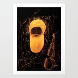 Baba Art Print