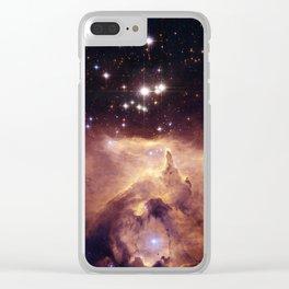 Emission Nebula NGC6357 Clear iPhone Case
