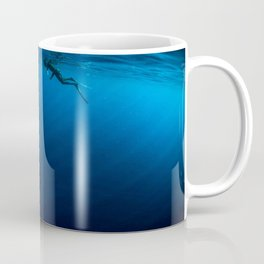 Deep Free Dive Cap Ferrat Coffee Mug