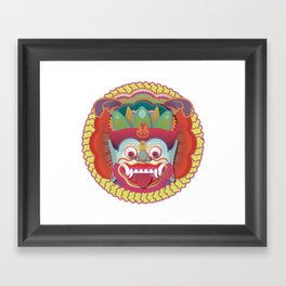 Bali Monster 1 Framed Art Print