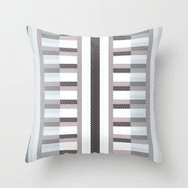 Stripe Geometric Throw Pillow