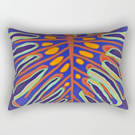 Monstera Flying to Summer Rectangular Pillow