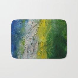 Tropicana Abstract Painting Textured Bath Mat