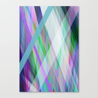 rave Canvas Prints featuring Crystal Rave by GS Designs