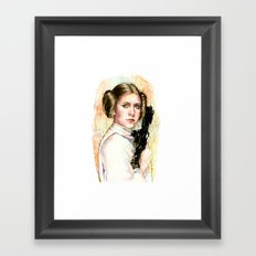 Princess and General Framed Art Print