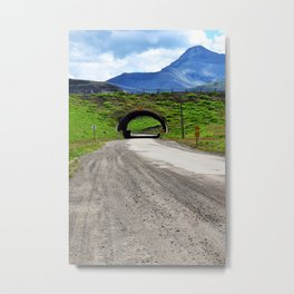 Tunnel To Life Metal Print