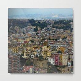 Napoli view Metal Print