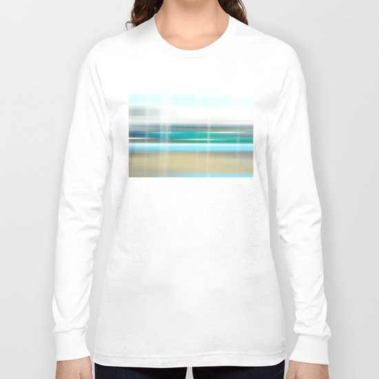 view to the breakers Long Sleeve T-shirt