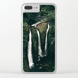 Triple Falls Clear iPhone Case