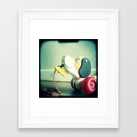 snoopy Framed Art Prints featuring Snoopy dog by Gail Griggs