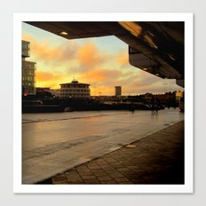 The City Terminal Canvas Print