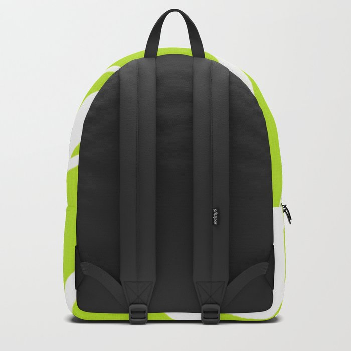 into the wind/green Backpack