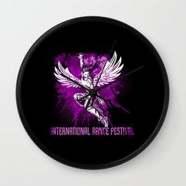International Dance Festival Wall Clock