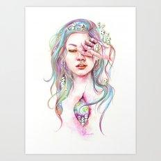 Kodama Art Print