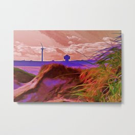 Sand Dunes (Digital Art) Metal Print