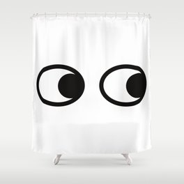 eye eye Shower Curtain