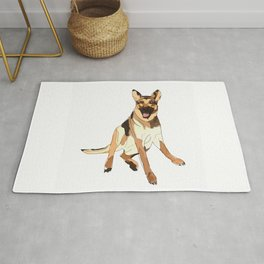 German Shepherd Dog Rug