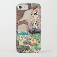 jungle iPhone & iPod Cases featuring JUNGLE by GEEKY CREATOR