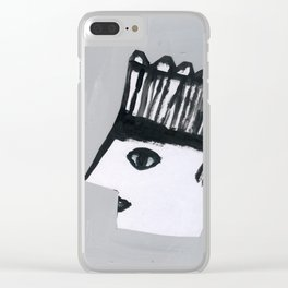 Strange groove Clear iPhone Case