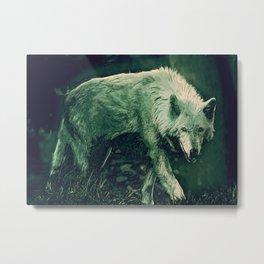 cool wolf art Metal Print