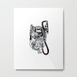 Unlicensed Nuclear Accelerator Metal Print
