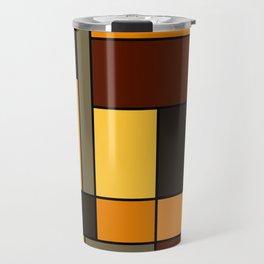 Mondrian Autumn Travel Mug