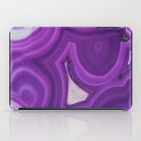 geode iPad Cases featuring Geode Crystal by BrooklynThread