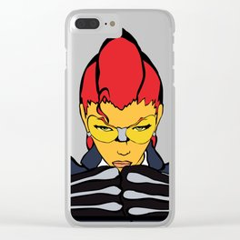 EXECUTION Clear iPhone Case