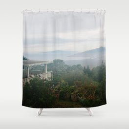 View From Upcountry Shower Curtain