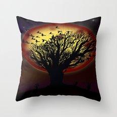NIGHT FLOCK - 020 Throw Pillow