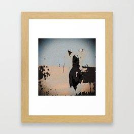 Chinese crested 5 Framed Art Print