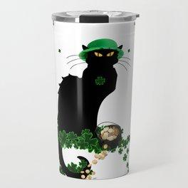 Le Chat Noir - St Patrick's Day Travel Mug