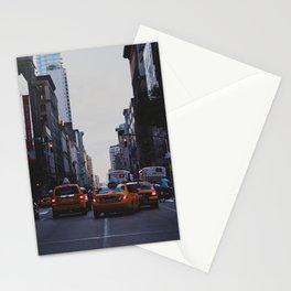 New York Traffic Stationery Cards