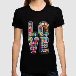 Op Art (LOVE) T-shirt