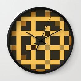 alt JUKE (coordinate for JUKEBOX pattern) Wall Clock