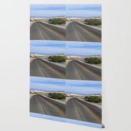 Long Desert Road Wallpaper