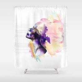 Take a breath Shower Curtain