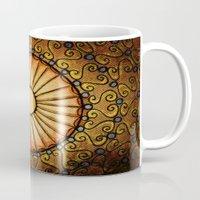 sun and moon Mugs featuring Sun and Moon by Alohalani