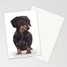 Dog-Dachshund Stationery Cards