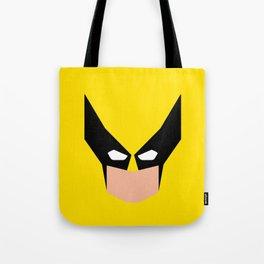 Wolverin e superhero Tote Bag