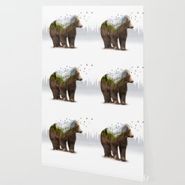 Wild I Shall Stay | Bear Wallpaper