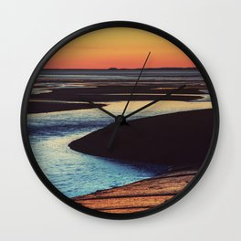 Brilliant Dusk Wall Clock