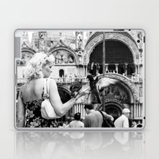 Birds of a Feather - St. Marks Square Italy Laptop & iPad Skin